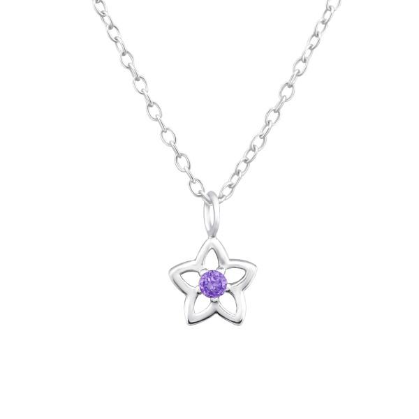 Jeweled Necklace FORZ25-TOP-JB7305-B/34858