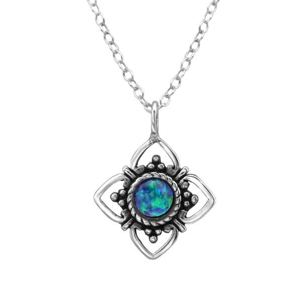 Jeweled Necklace FORZ25-TOP-JB7472 OX/23628
