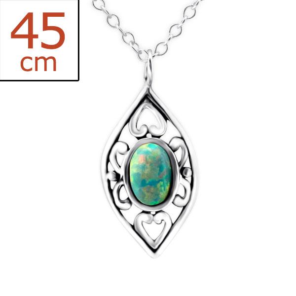 Jeweled Necklace FORZ25-TOP-JB7488 OX/23656