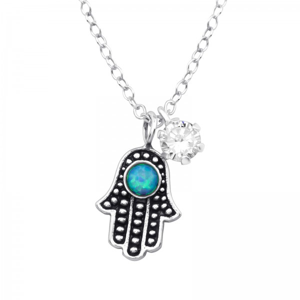 Jeweled Necklace FORZ25-TOP-JB7786-OX-TOP-ESA-R4-6P/36836