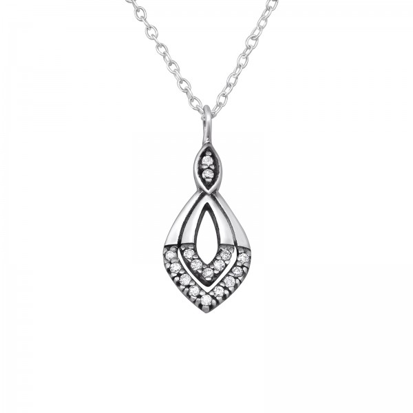 Jeweled Necklace FORZ25-TOP-JB8957 OX/30454