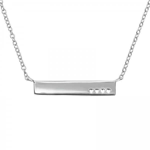 Plain Necklace FORZ25-42+3CM-NK-JB6524 RP/39715