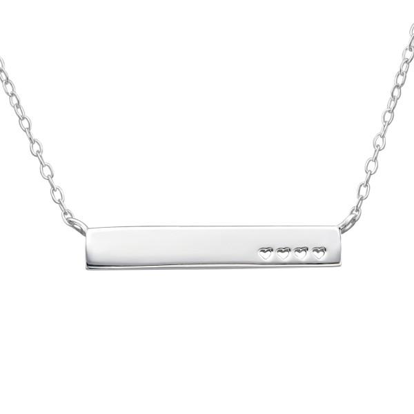 Plain Necklace FORZ25-NK-JB6524/22361