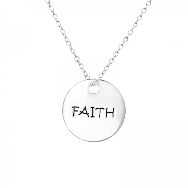 Plain Necklace FORZ25-PART-APS2015 FAITH/30099