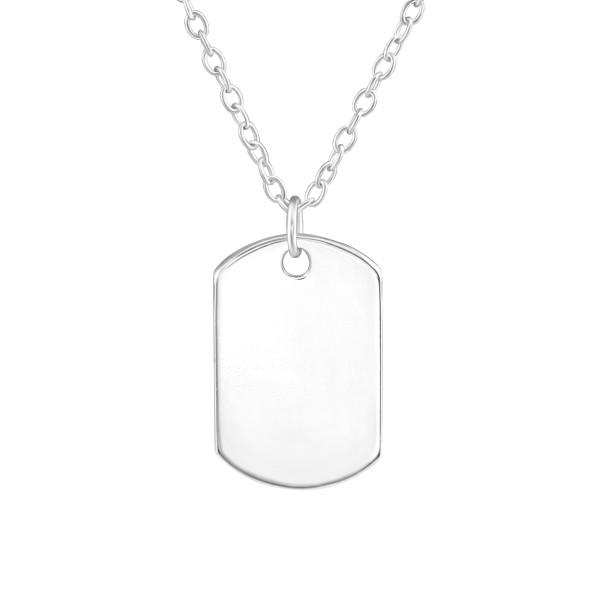 Plain Necklace FORZ25-PART-APS4035-FL/38474