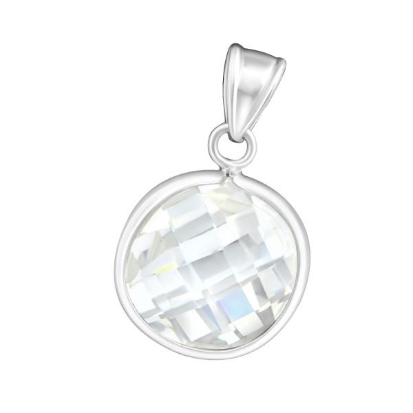 Jeweled Pendant PD-CZAR10 DCB/19074