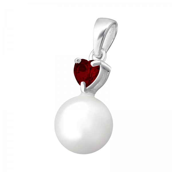 Jeweled Pendant PD-ESH4-P8-GLASS GAR/34850