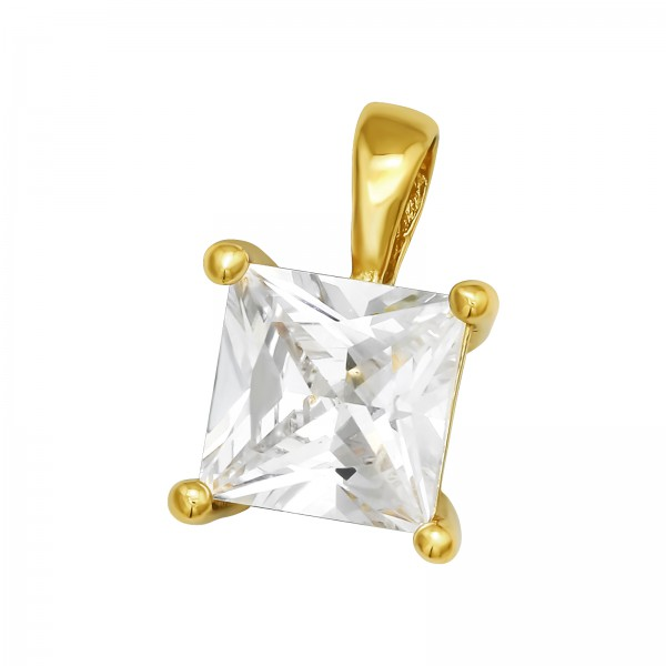 Jeweled Pendant PD-JB11575 GP/40994