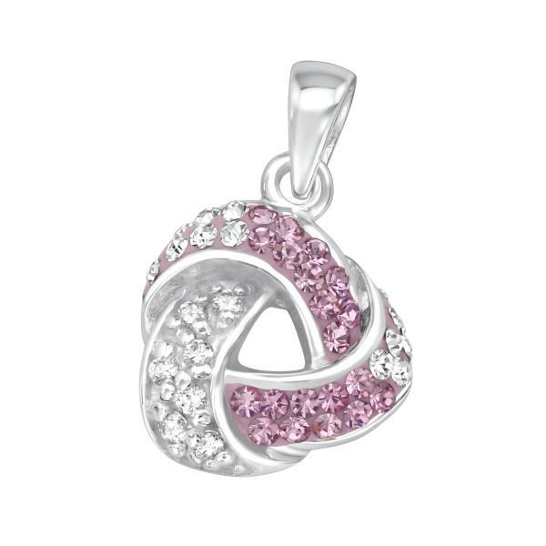 Jeweled Pendant PD-JB4944 AM/CRY/18560