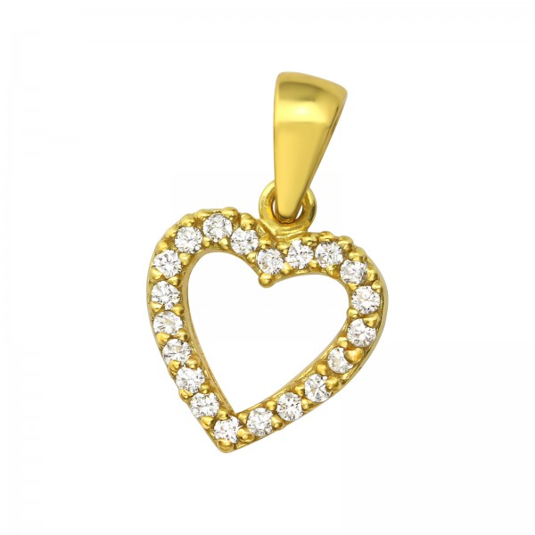 Jeweled Pendant PD-JB6233 GP/35322