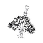 Silver Tree Pendant, #27785