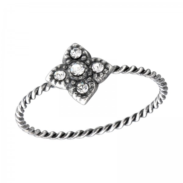 Jeweled Ring RG-APS2493-APS2767-OX CRY/33760