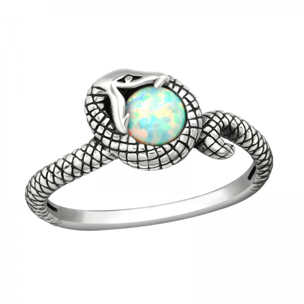 Jeweled Ring RG-JB10690-OX FIRE SNOW/36886