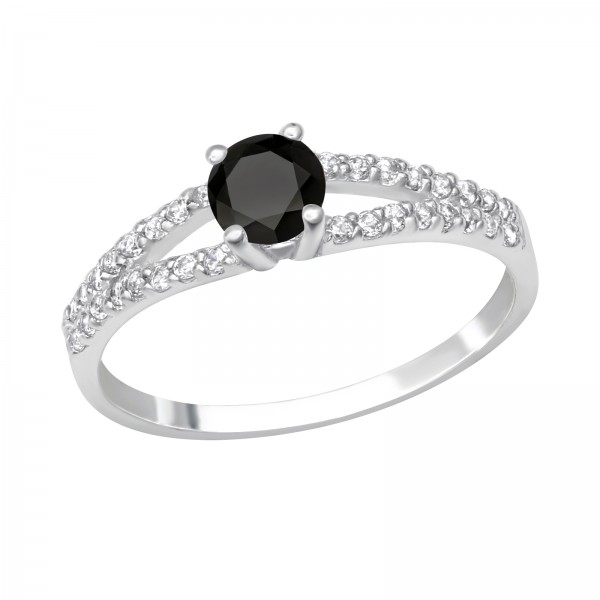 Jeweled Ring RG-JB10971 JET/27904