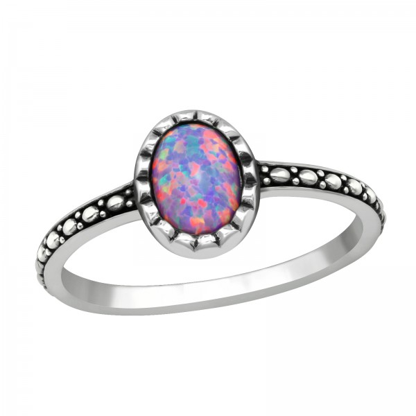 Jeweled Ring RG-JB11089 OX MULTI LAV/39660