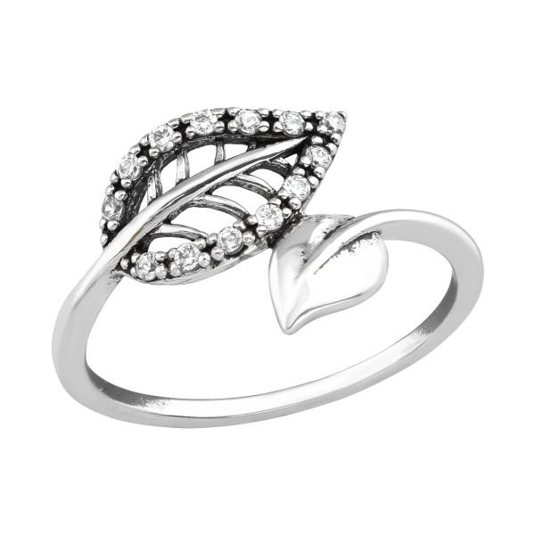 Jeweled Ring RG-JB11199 OX CRY/36763