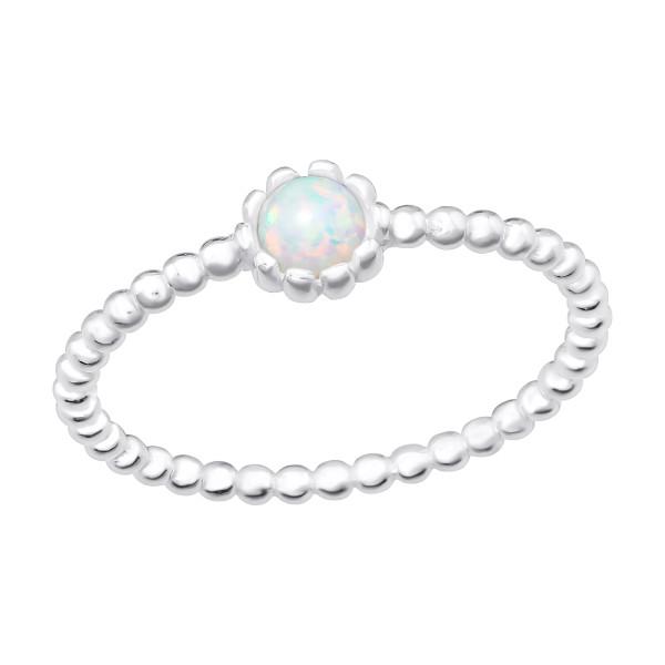Jeweled Ring RG-JB11279 FIRE SNOW/40214