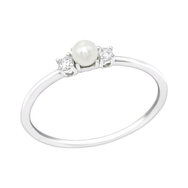 Jeweled Ring RG-JB11855-PPL3/39253