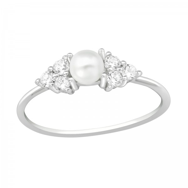 Jeweled Ring RG-JB11889-PPL4/40268