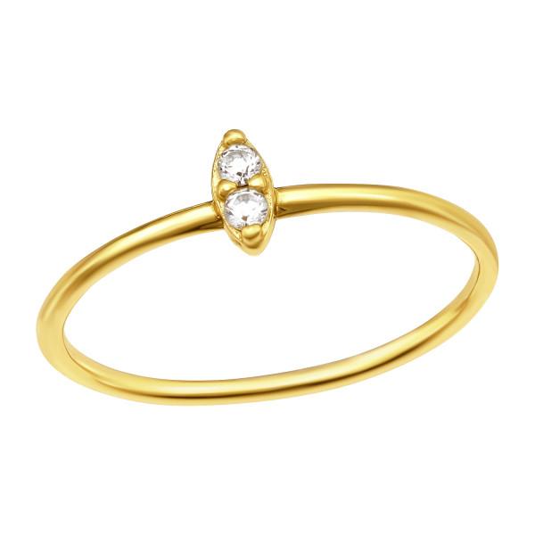 Jeweled Ring RG-JB12470 GP/41054