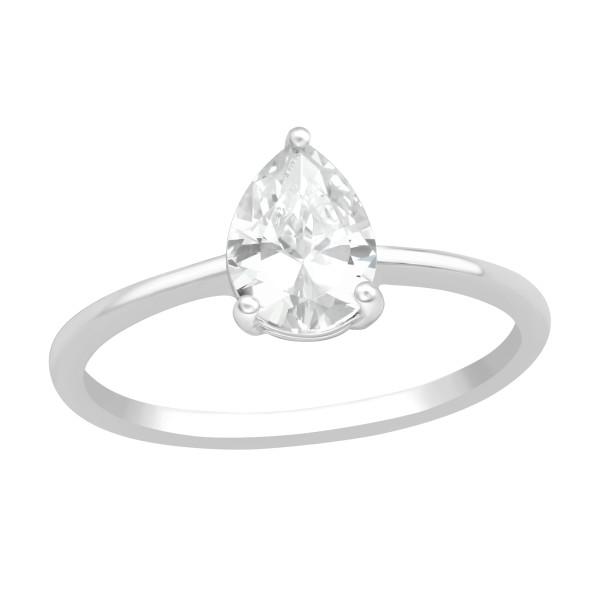 Jeweled Ring RG-JB13109 CRY/40938