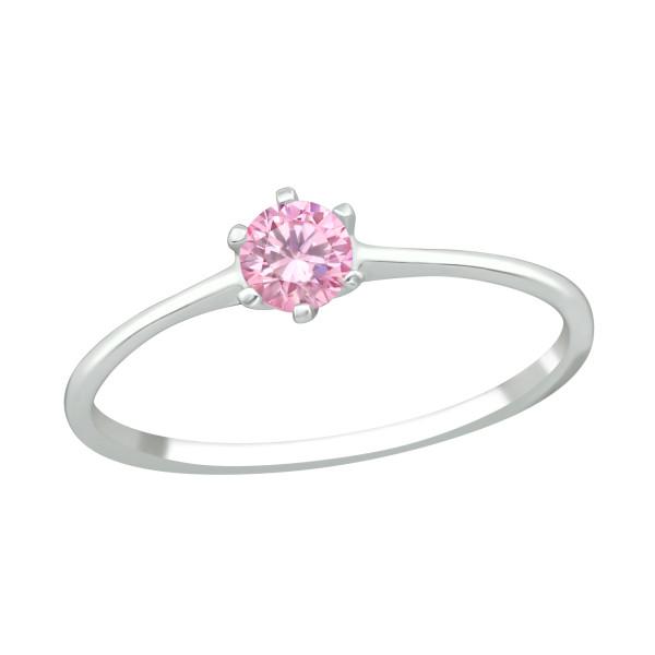 Jeweled Ring RG-JB7006-CZSWR PINK/39247