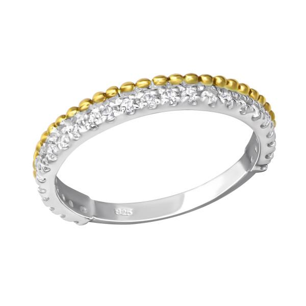 Jeweled Ring RG-JB7364 2TGP/23261