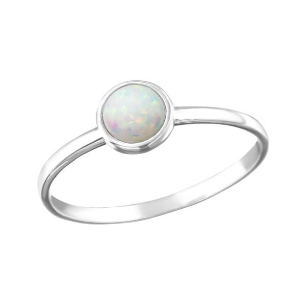 Jeweled Ring RG-JB7372 FIRE SNOW/25319