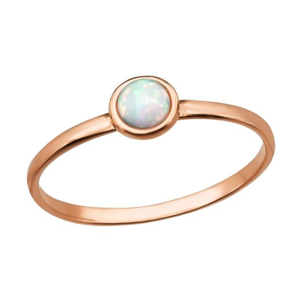 Jeweled Ring RG-JB7372-RGP FIRE SNOW/39783