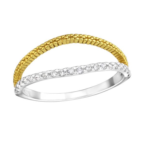 Jeweled Ring RG-JB7376 2TGP/23270