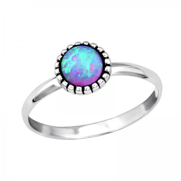 Jeweled Ring RG-JB7547-OX BUBBLE GEM/31375