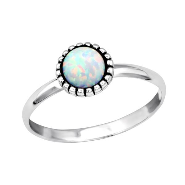 Jeweled Ring RG-JB7547-OX FIRE SNOW/34974