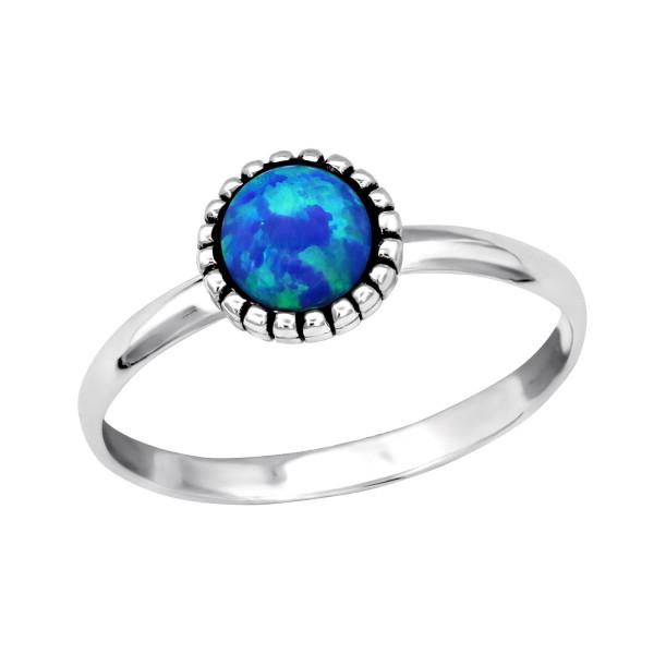 Jeweled Ring RG-JB7547-OX PACIFIC BLUE/27973