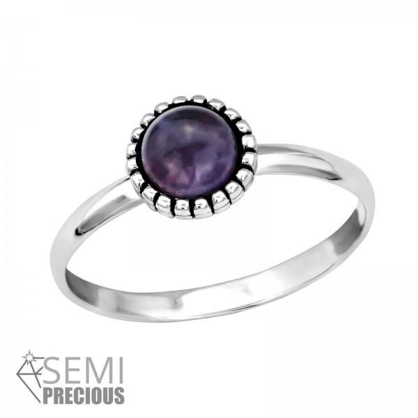 Jeweled Ring RG-JB7547-S OX AM/30312