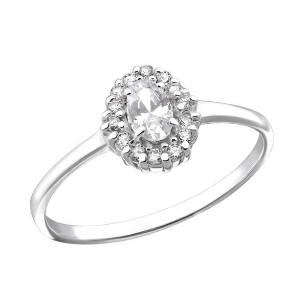 Jeweled Ring RG-JB7627 CRY/31156