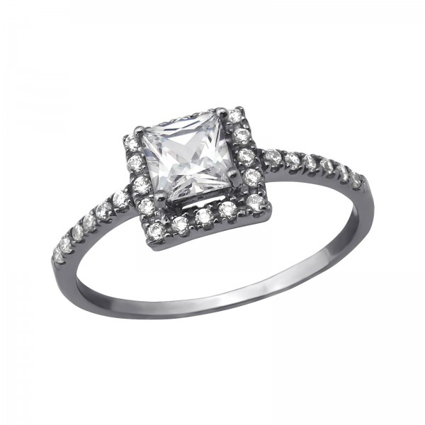 Jeweled Ring RG-JB7628-BK/RU/35380