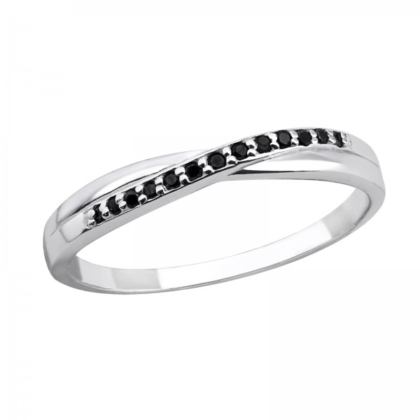 Jeweled Ring RG-JB7633 JET/30968