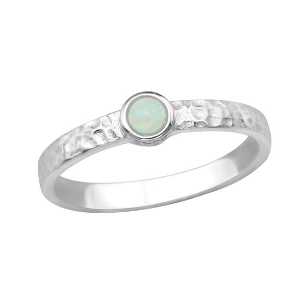 Jeweled Ring RG-JB8578 FIRE SNOW/40265