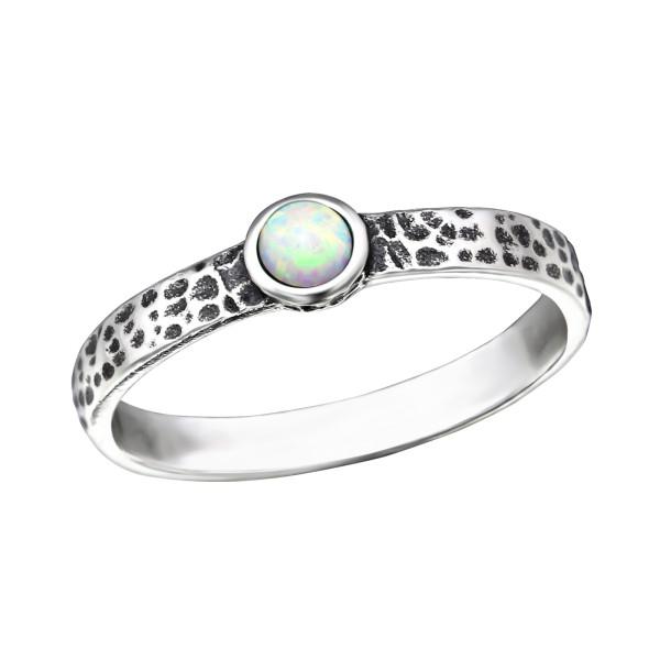 Jeweled Ring RG-JB8578-OX FIRE SNOW/31786