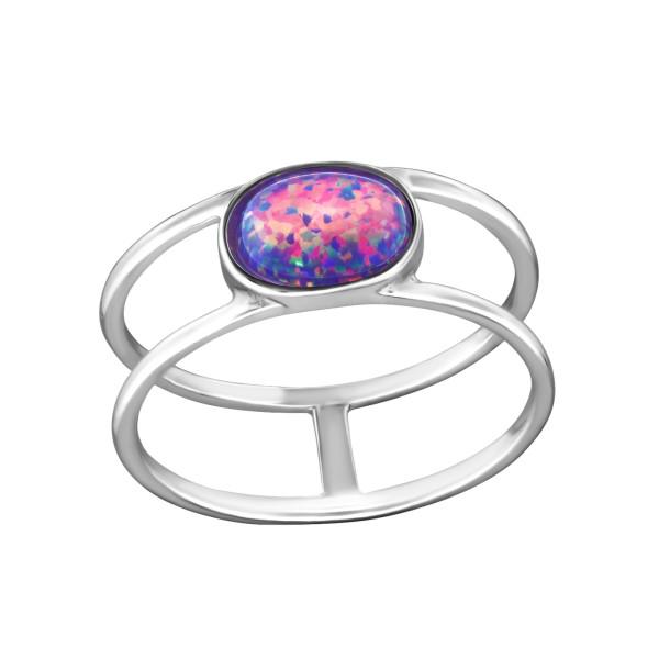 Jeweled Ring RG-JB8582 MULTI LAV/34579