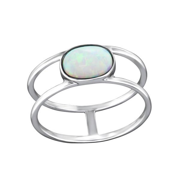Jeweled Ring RG-JB8582-OX FIRE SNOW/31194