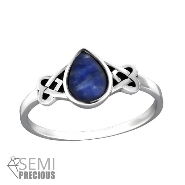Jeweled Ring RG-JB8586-S-OX SODALITE/32453