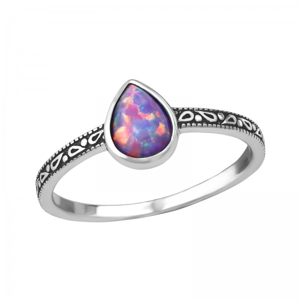 Jeweled Ring RG-JB8588-OX MULTI LAV/36174