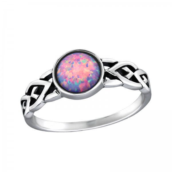 Jeweled Ring RG-JB8591-OX MULTI LAV/34977