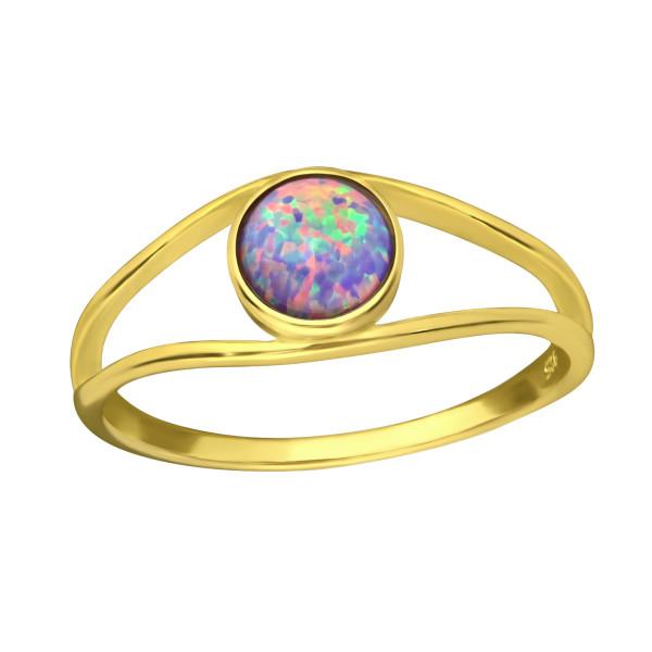 Jeweled Ring RG-JB8592-GP MULTI LAV/36173