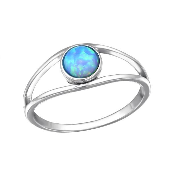 Jeweled Ring RG-JB8592-OX AZURE/30670