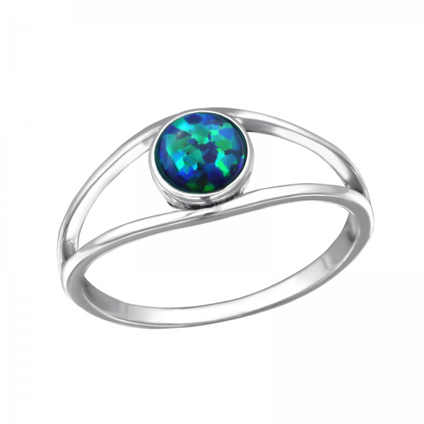 Jeweled Ring RG-JB8592-OX PEACOCK /31458