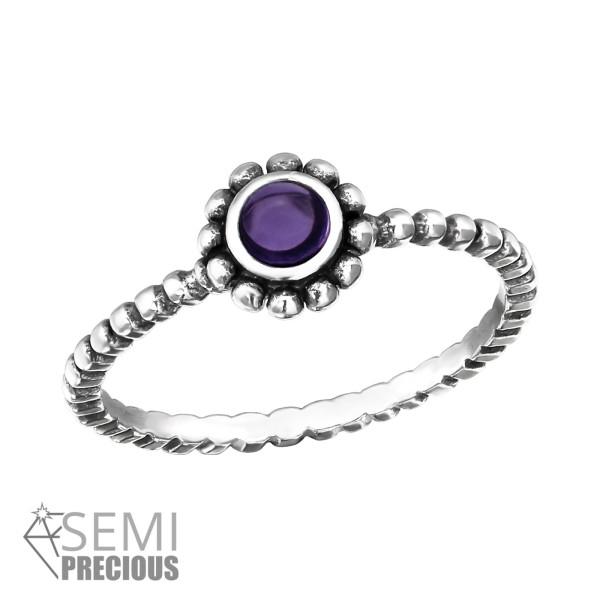 Jeweled Ring RG-JB8594-S-OX AM/32454