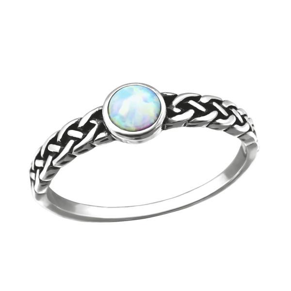 Jeweled Ring RG-JB8595-OX FIRE SNOW/31873