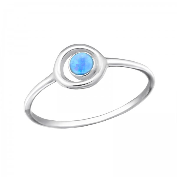 Jeweled Ring RG-JB8596 AZURE/31417